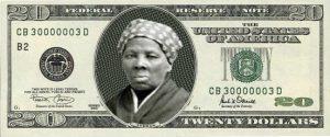 Harriet on $20